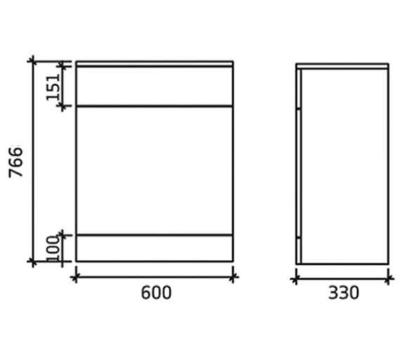 Additional image for QS-V43110 Nuie Bathroom - PRC143