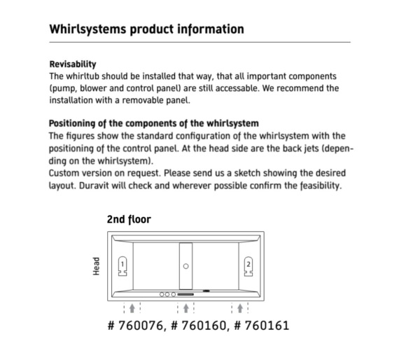 Additional image of Duravit  760160000CL1000