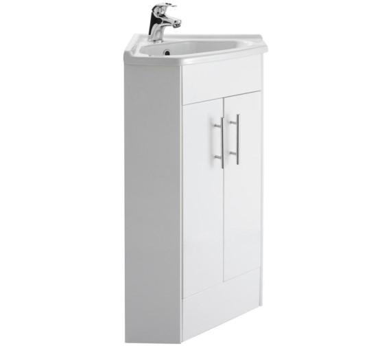 Premier Mayford 555mm Double Door Corner Cabinet And Basin