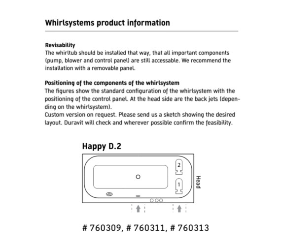 Additional image of Duravit  760313000CL1000
