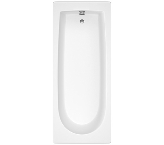 Beo Oceana 1500 x 700mm Round Single Ended Acrylic Bath