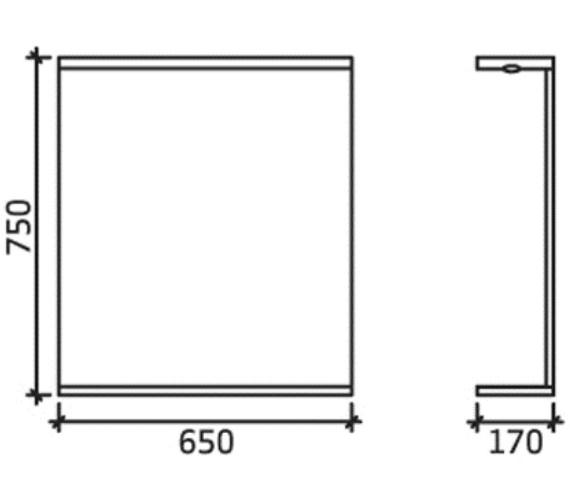 Technical drawing QS-V45067 / PRC113