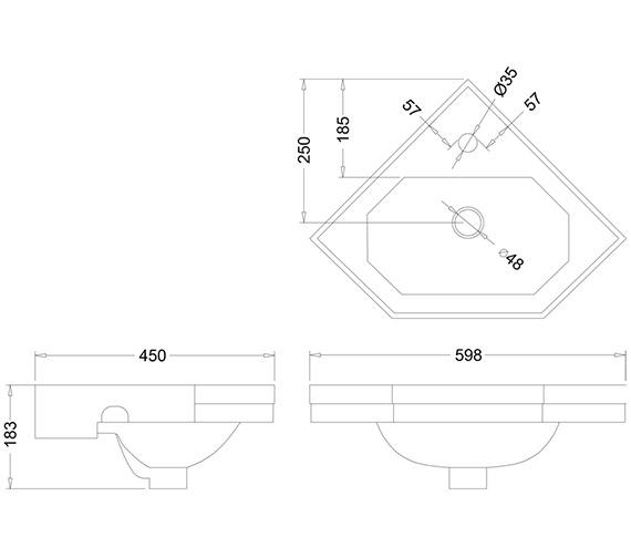 Technical drawing QS-V10926 / B10D