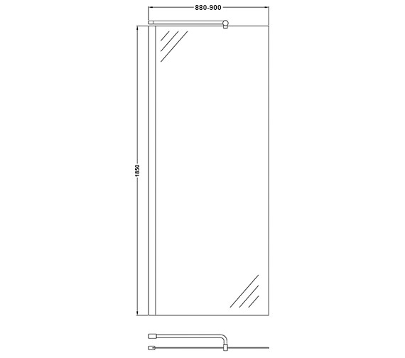 Technical drawing QS-V60400 / WRSC090