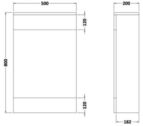 Technical drawing QS-V73117 / NVM141