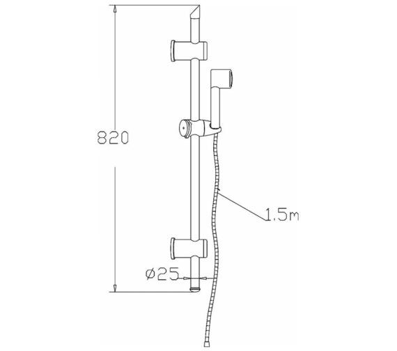 Technical drawing QS-V43069 / STY042