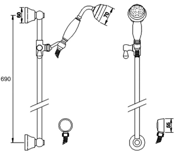 Technical drawing QS-V43075 / A3211