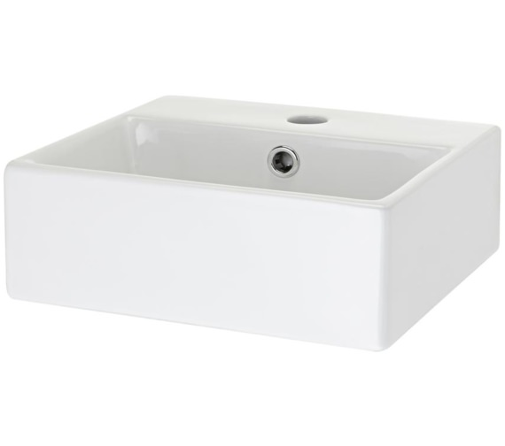Premier Vessel 335 x 295mm Rectangular Counter Top Basin