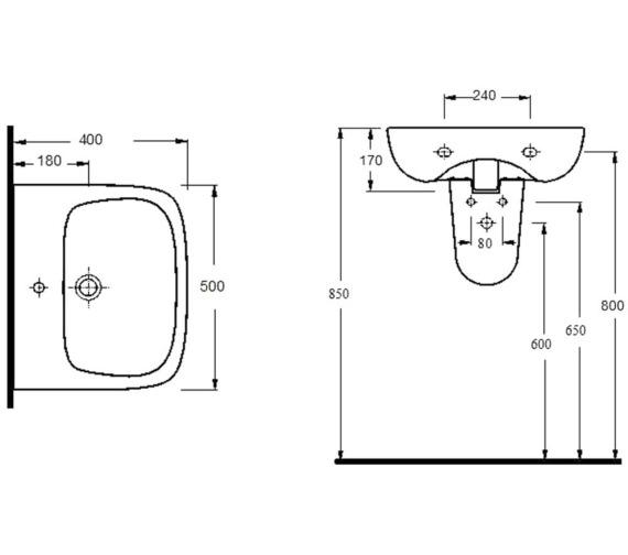 Technical drawing QS-V72313 / NCB522