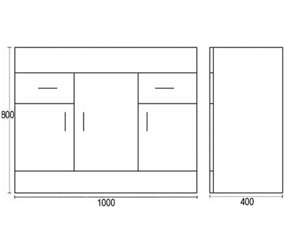 Technical drawing QS-V45072 / NVM107