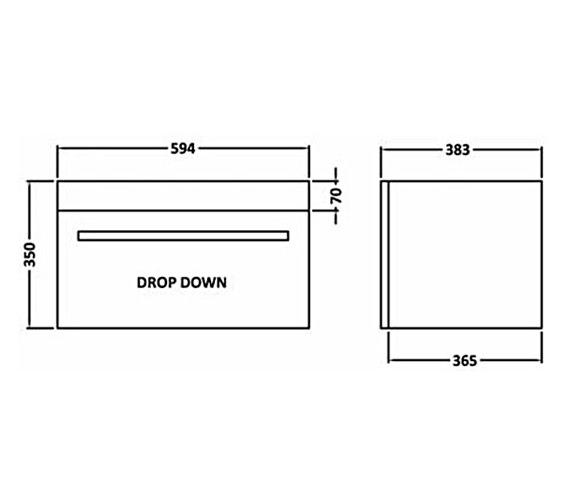 Technical drawing QS-V54817 / NVM183