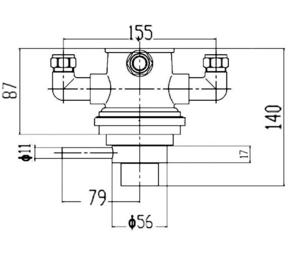 Technical drawing QS-V43033 / JTY026