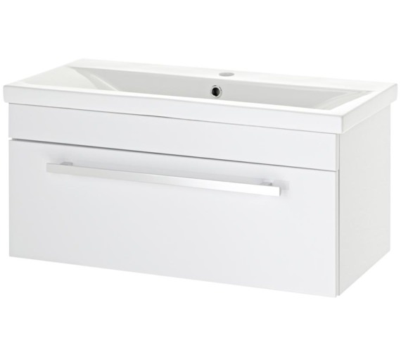 Lauren Eden 800mm Wall Hung Basin Cabinet
