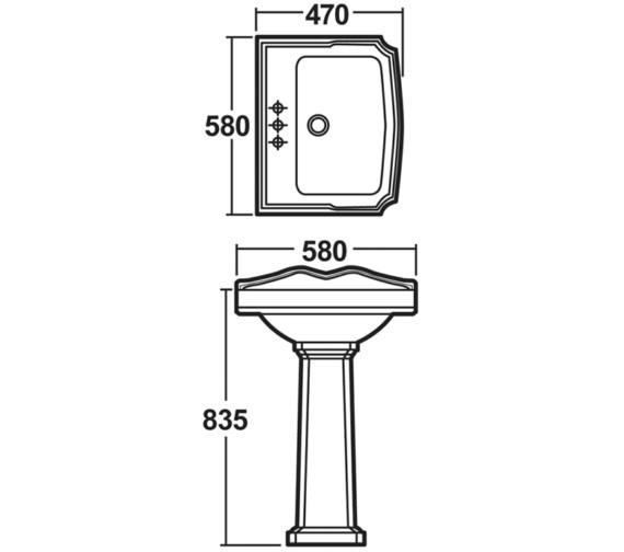 Technical drawing QS-V16263 / BEO-1668
