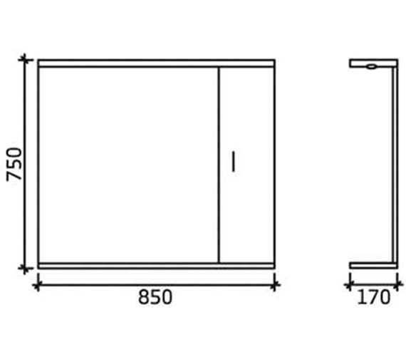 Technical drawing QS-V45069 / PRC115