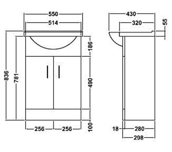 Technical drawing QS-V45059 / PRC102