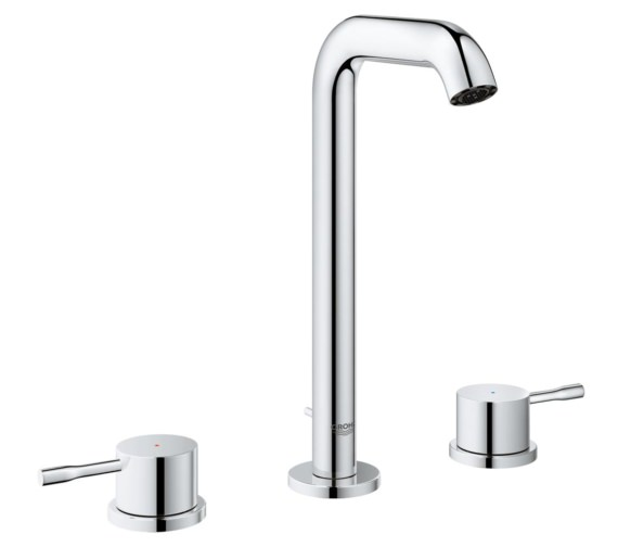 Grohe Essence New L-Size 3 Hole Basin Mixer Tap