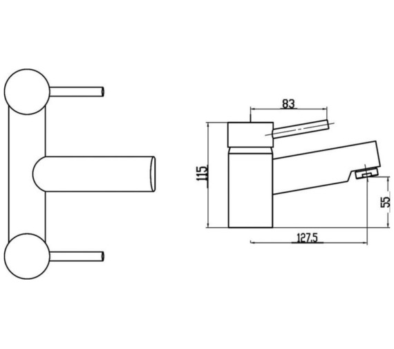 Technical drawing QS-V59666 / BEO-2109