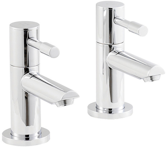 Beo Prise Pair Of Basin Taps Chrome