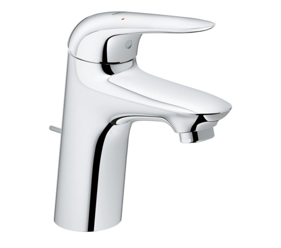 Grohe EuroStyle S-Size Single Hole Basin Mixer Tap Chrome