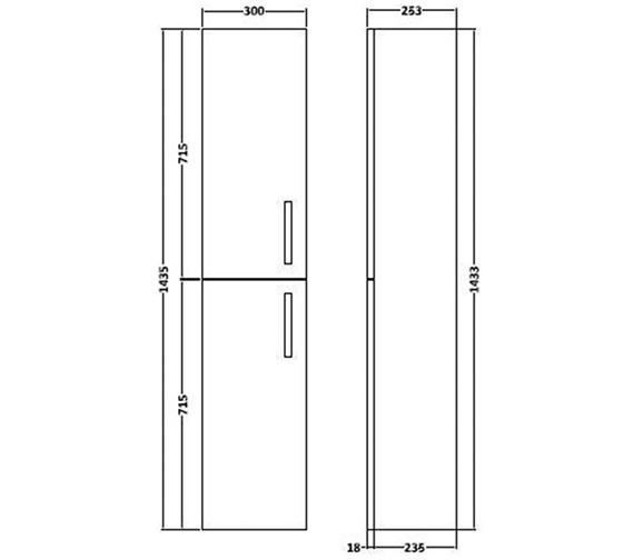 Technical drawing QS-V27404 / DK3MH