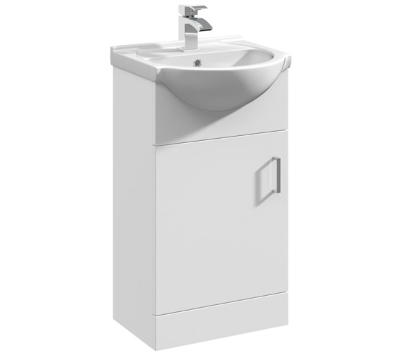 Nuie Premier Mayford 450mm Floor Standing Cabinet With Basin