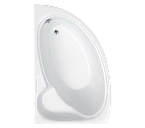 Carron Dove Offset Corner Left Hand Bath 1550 x 950mm