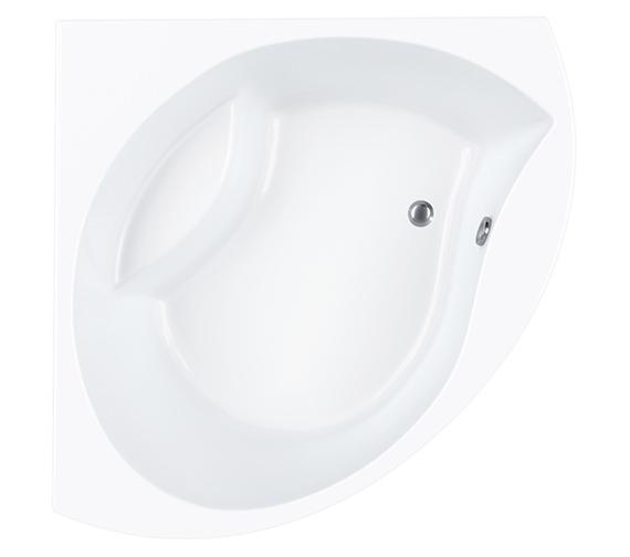 Carron Tranquility Corner Bath 1300 x 1300mm - CACTR135PA