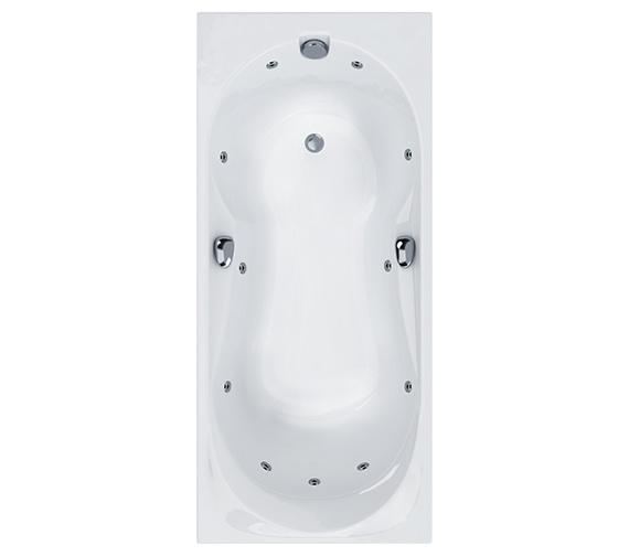 Carron Ballad 11 Jet Whirlpool Bath 1600 x 750mm