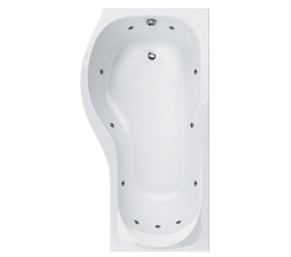 Carron Prado 11 Jets Whirlpool Shower Bath 1500 x 700mm