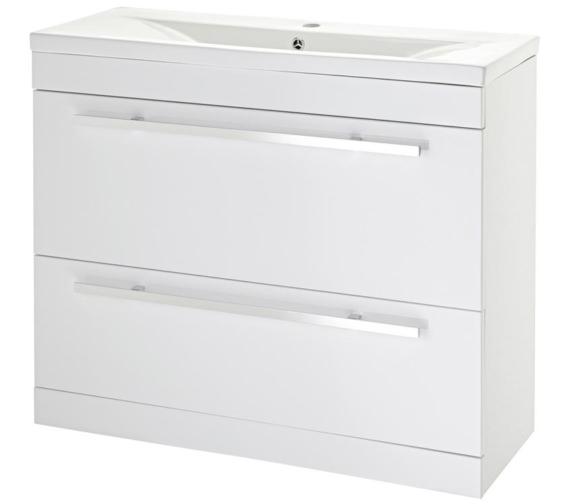 Lauren Eden 1000mm Door And Drawer Floor Standing Basin Cabinet
