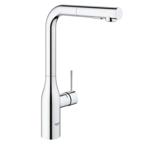 Grohe Essence Foot Control Electronic Kitchen Sink Mixer Tap