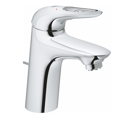 Grohe Eurostyle S-Size Basin Mixer Tap With Pop-Up Waste