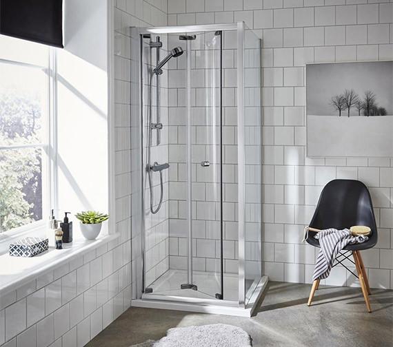 Alternate image of Premier Ella 760 x 1850mm Bi-Fold Shower Door