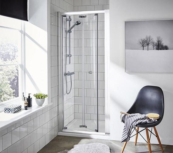 Premier Ella 760 x 1850mm Bi-Fold Shower Door