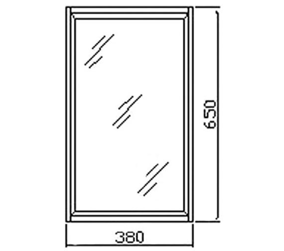 Technical drawing QS-V36009 / LQ301