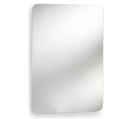 Nuie Premier Austin 460 x 660mm Stainless Steel Mirrored Cabinet