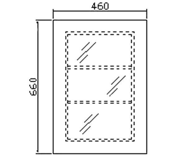 Technical drawing QS-V36008 / LQ302