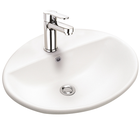 Twyford E100 Round 550 x 450mm Countertop Basin