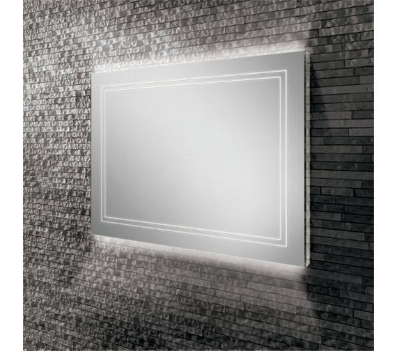 HIB Outline 80 Landscape LED Ambient Mirror 800 x 600mm