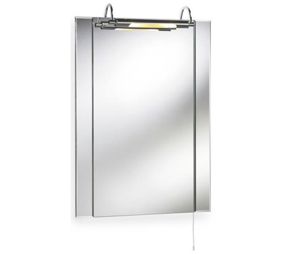 Lauren Pallas 550 x 720mm Mirror With LED Light