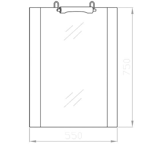 Technical drawing QS-V36013 / LQ305