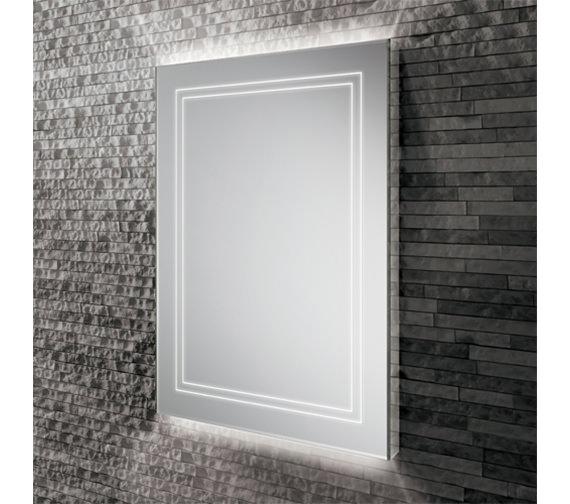 HIB Outline 60 Portrait LED Ambient Mirror 600 x 800mm