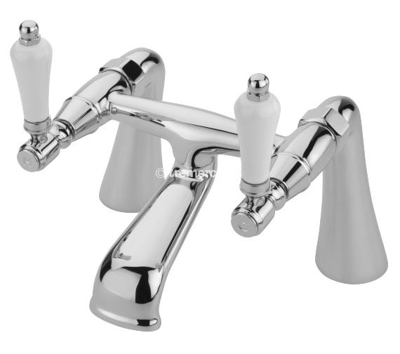 Tre Mercati Victoria Bianco Pillar Bath Filler Tap