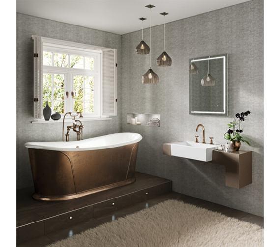 HIB Spectre 60 LED Bathroom Mirror 800 x 600mm