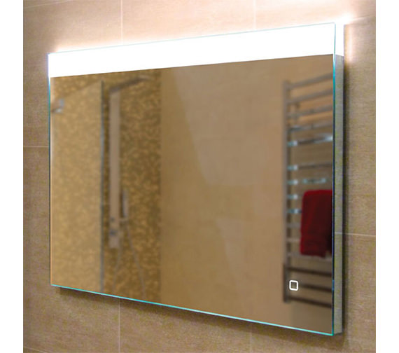 HIB Alpine 80 Landscape Steam Free LED Mirror 800 x 600mm