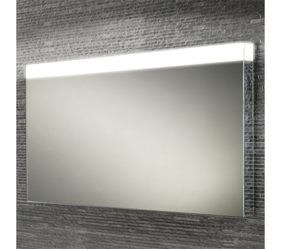 Alternate image of HIB Alpine 50 Portrait Steam Free LED Mirror 500 x 700mm