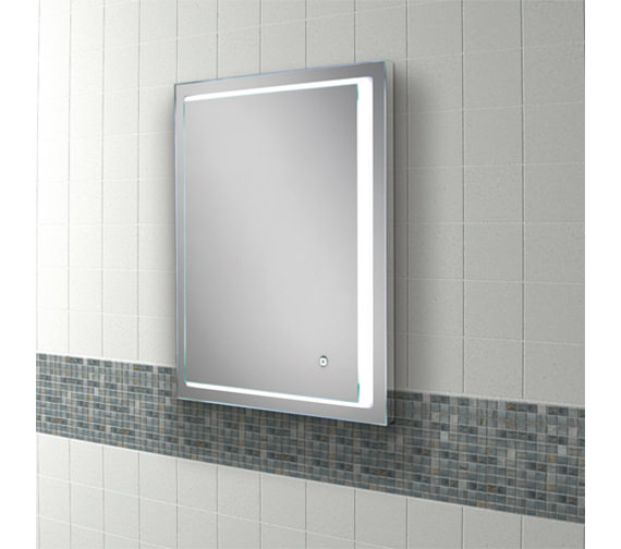 hib spectre 50 led bathroom mirror 500 x 700mm 79510000 13129