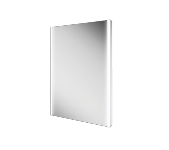 Additional image of HIB Zircon 50 Portrait LED Bathroom Mirror 500 x 700mm