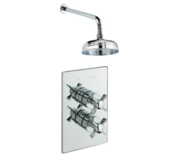Tre Mercati Imperial Concealed Thermostatic Shower Valve With Shower Head